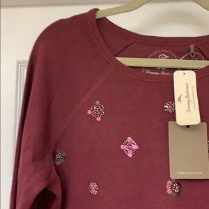 Tommy Bahama embellished sweatshirt. Size L